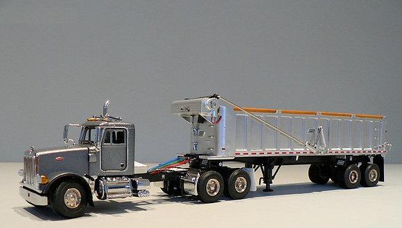 Sword - Peterbilt 357 day cab with East dump trailer