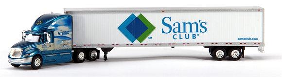 International Prostar Sleeper Cab with 53' Dry Van Trailer, Sam's Club