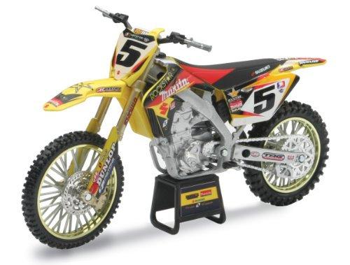 "1:12 -Suzuki RM-Z450 2010 Ryan Dungey #5 ""Makita, Rockstar, Yoshimura"" Dirt Bike"