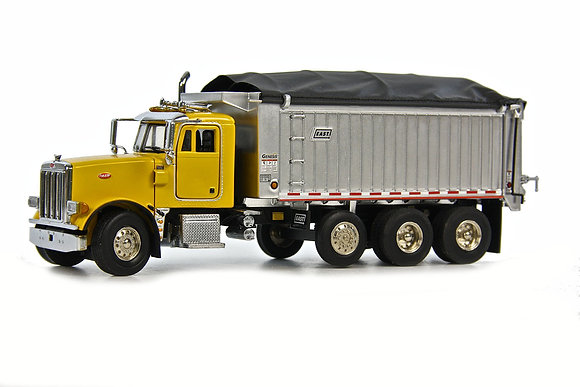 Peterbilt 357 with East Genesis Dump Body - YELLOW