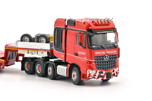 KNT Red Line Mercedes-Benz Arocs 8x4 - Nooteboom MCOPX 2+6 axle