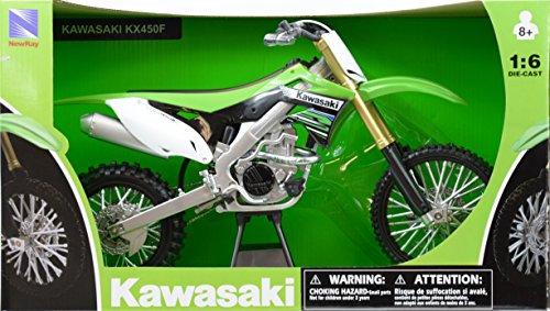 Kawasaki KX 450F Green Dirt Bike