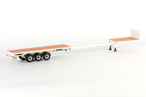 Flatbed Trailer (3 axle) -Extendable