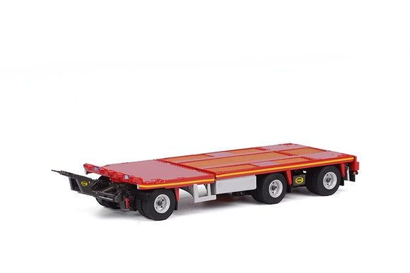 Jumbo extendable trailer - 3 AXLE