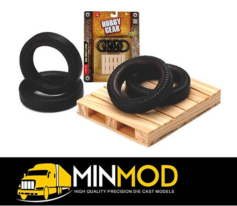 Hobby Gear: Spare Tyres on a Wooden Pallet
