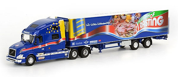 Rasting - Volvo VN 780 with 2-Axle Thermo King Reefer Trailer