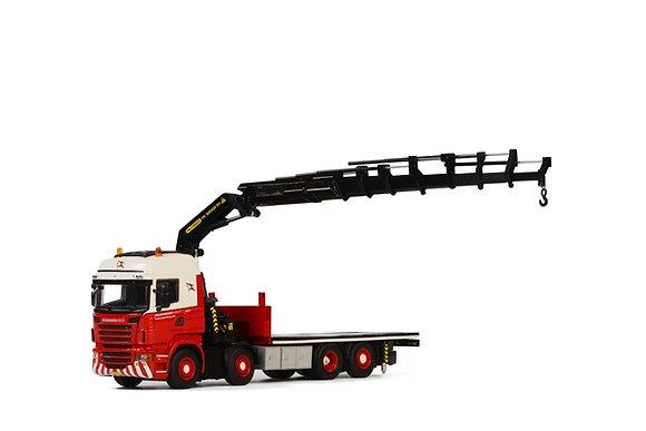 Wagenborg  SCANIA R Highline Palfinger 92002 SH + Jib (Single truck)