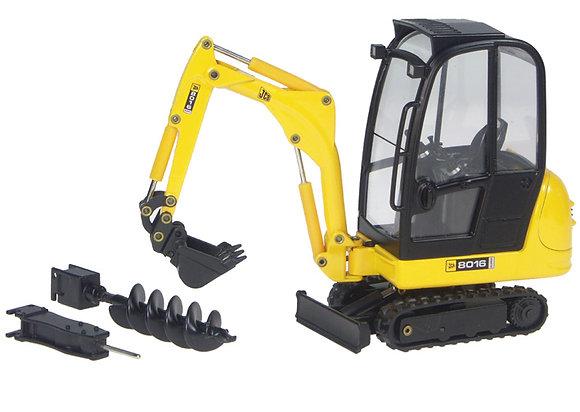 * JCB 8016 Mini Excavator With Attachments