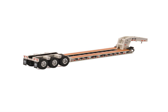 USA Basic Line; LOWBOY - 3 AXLE in white