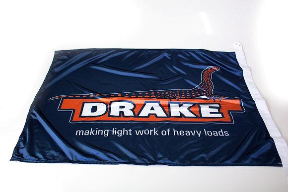 DRAKE LOGO FLAG