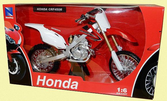 Honda CRF450R (2012) in Red