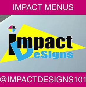 PVC Menus Impact Designs 101 Stuart Florida