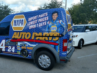 IMPACT DESIGNS 101 VEHICLE WRAP
