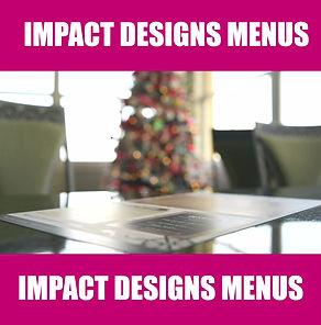PCV Menus Impact Designs 101 Stuart Florida