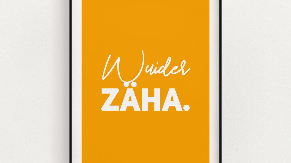 Wuider Zäha