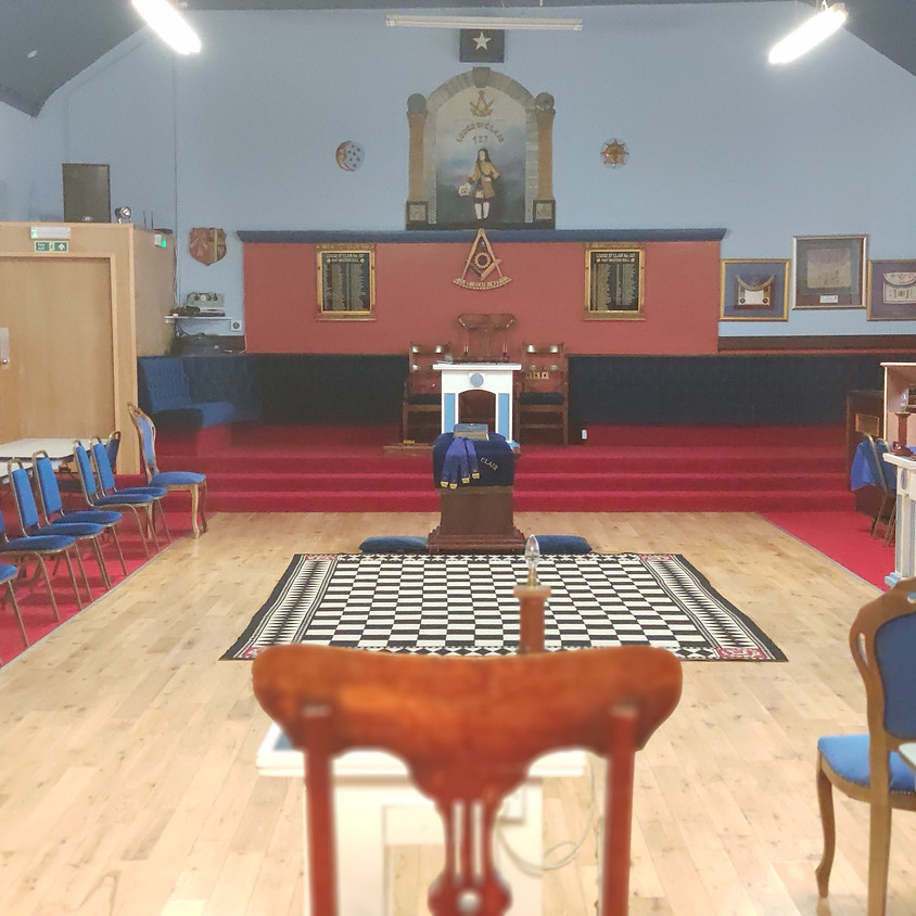 Visit by Lodge St Clair 427 to St Mary Coltness No 31