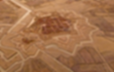 Gravelines Plan en relief Vauban 1750