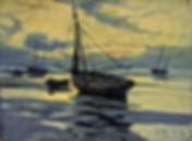 Durant vos vacances sur la Côte d'Opale, découvrez le Chenal de Gravelines à travers les peintures et photographies de Georges Maroniez (1865 - 1933)