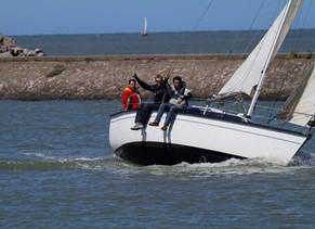 """A bord du voilier """"Port de Gravelines"""""""