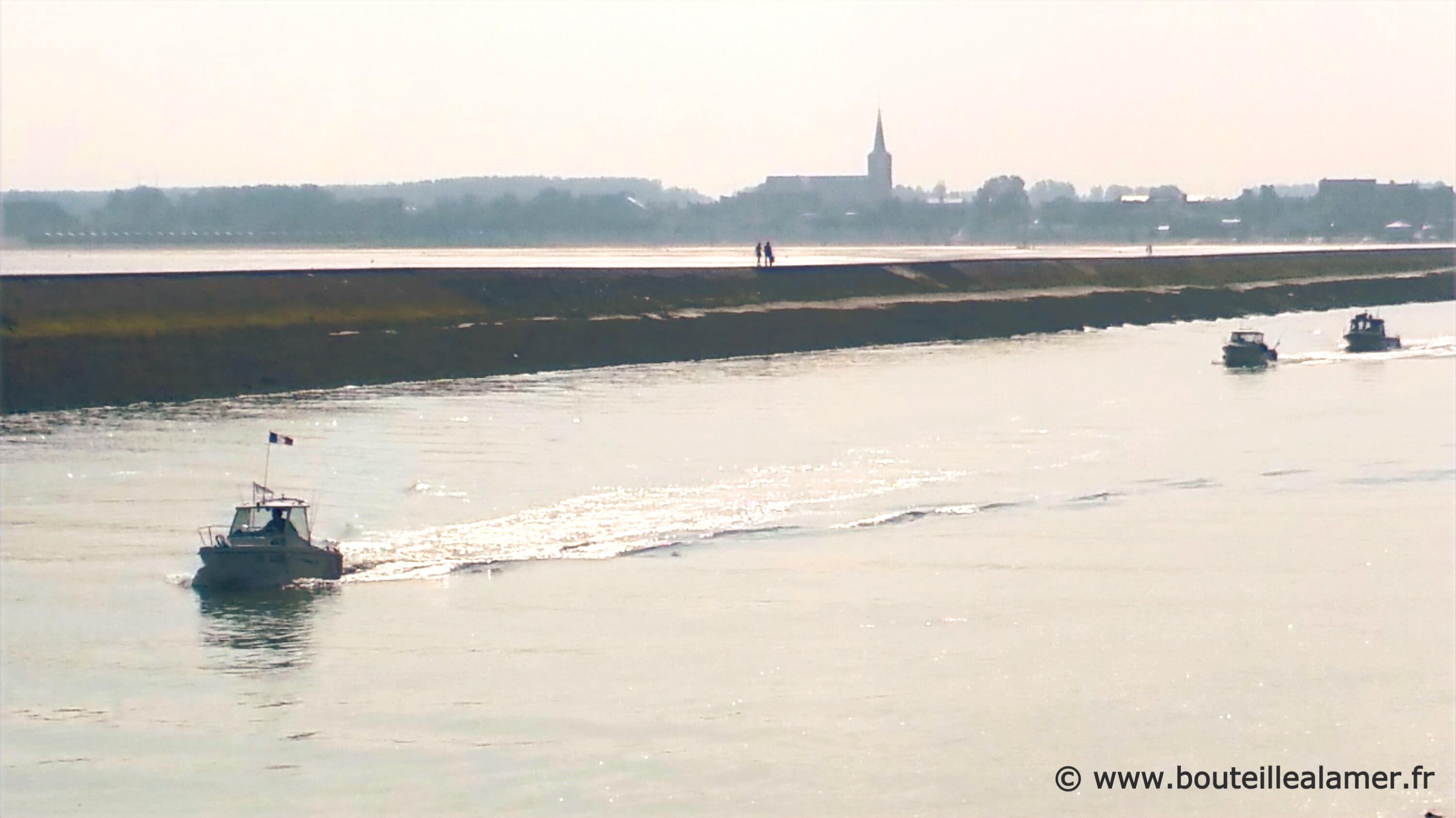 View of the lake arm in Gravelines