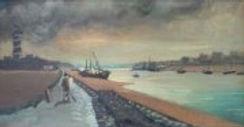 André Derain (1880-1954) L'entrée du port de Gravelines