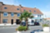Façade de la maison bouteillealamer.fr pour un séjour et une location sur la côte d'Opale en vacances à Gravelines, Fort Philippe