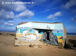 Blockhaus plage des Ecardines cote d'opa
