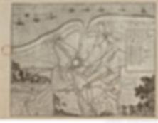 Carte du siege de Gravelines 1658