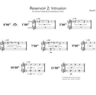 Sarah Hennies: Reservoir 2: Intrusion