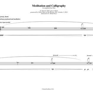 Felipe Lara: Meditation and Calligraphy