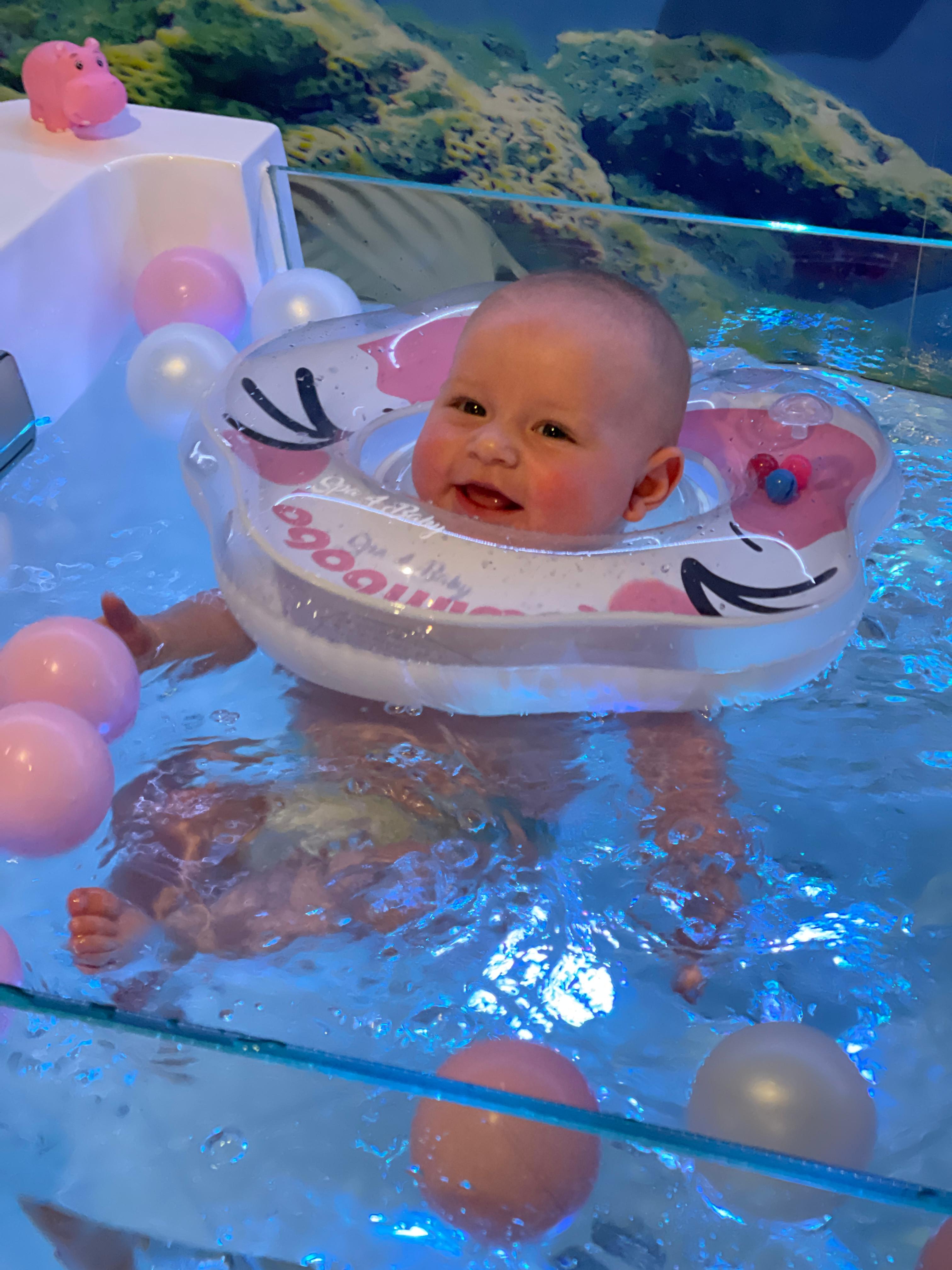 Floating 20 Min. (ab 14 Tagen bis 25kg)