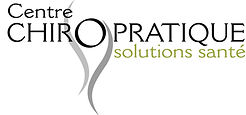 Logo Centre chiropratique solutions sante
