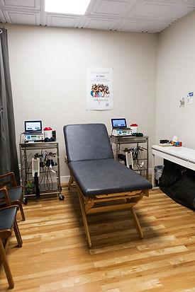 salle therapie au laser