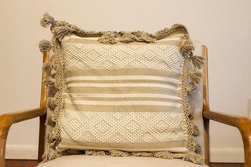 Grey Telar Pillow