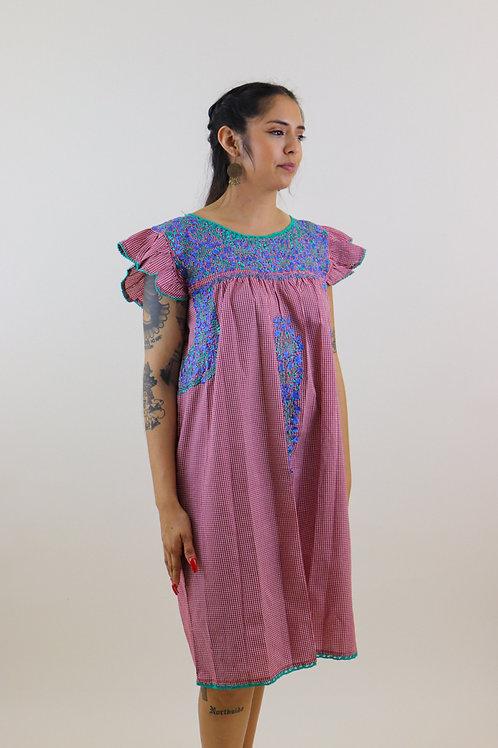 M/L Dress Bordado de San Pedro Mártir