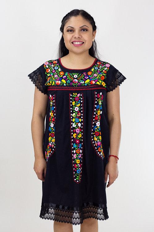 XS/S Black Chanel de Chilac Dress