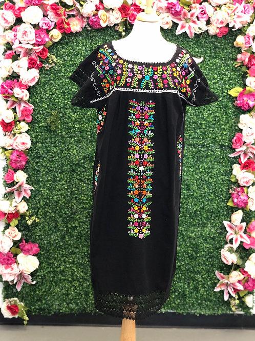 L/XL Black Chanel de Chilac Dress