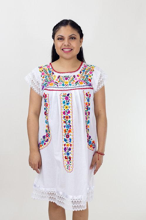 XS/S White Chanel de Chilac Dress