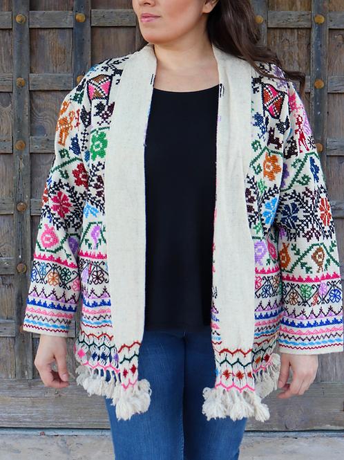 L/XL Wool Abrigo