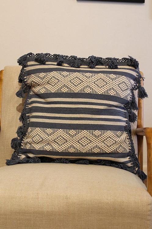 Blue Telar Pillow