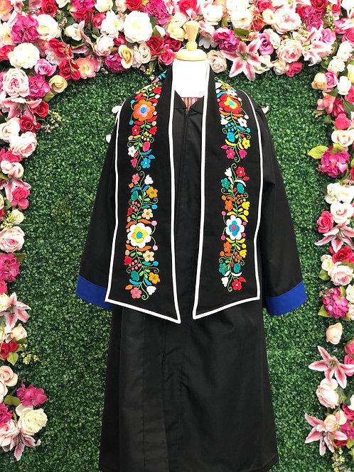 Floral Graduation Stole
