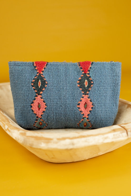 Small Wool Bag with Natural Dyes