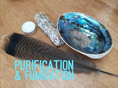 Kit Intro Purification-Fumigation & Rituel