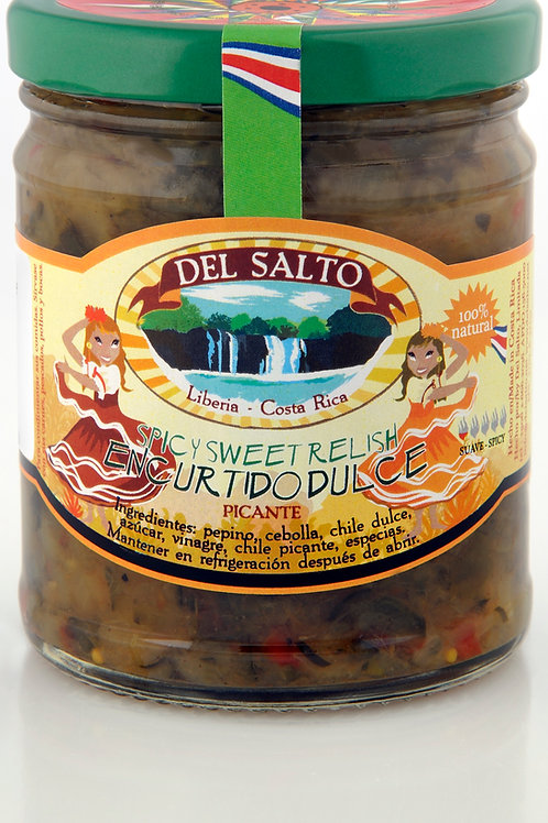 Encurtido Picante - Hot Sweet Relish - 9oz