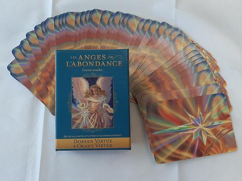 Les Anges de l'abondance ...cartes oracles