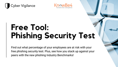 Free Phishing Security Test from KnowBe4