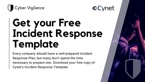 Cynet free incident response plan template