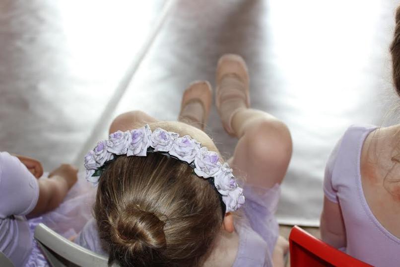Ballet Hair - Lilac Flowers