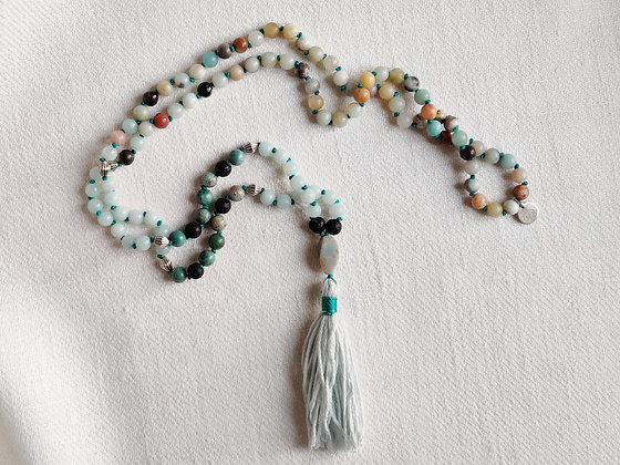 Confident and Courageous mala - Short