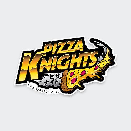 Pizza Knights Sticker